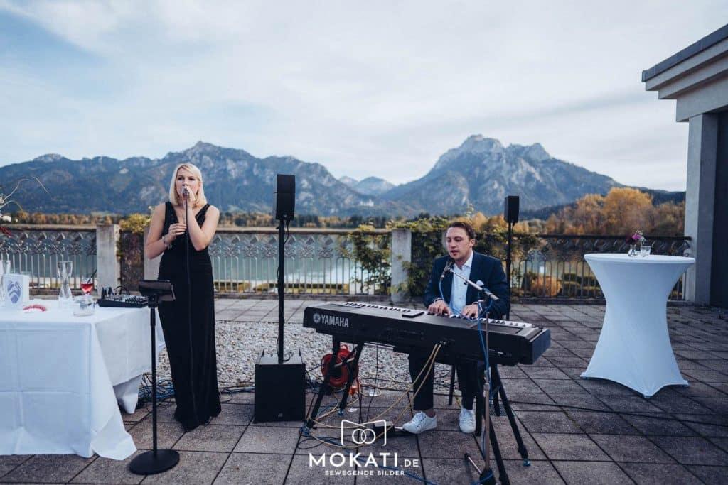 Heiraten im Festspielhaus Füssen am See organisiert vom Hochzeitsplaner.