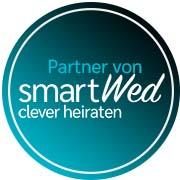 Das ist das Badge von smartWed.